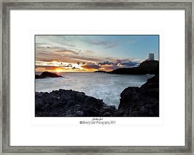 Llanddwyn Island Sunset Framed Print