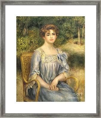 Madame Gaston Bernheim De Villers  Framed Print