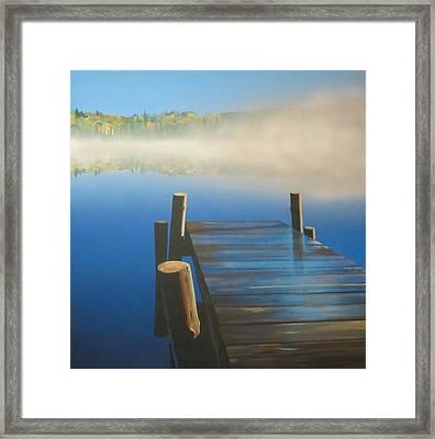 Morning Mist 2 Framed Print