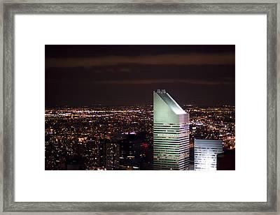Night View Framed Print