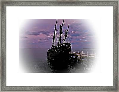 Notorious The Pirate Ship 5 Framed Print by Blair Stuart