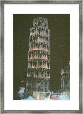 Oil Lamp Light Framed Print