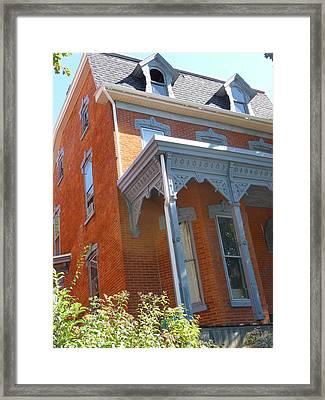 Pennsylvania Home Framed Print by Paul Washington