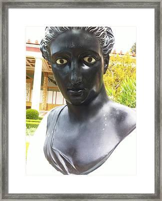 Roman Sculpture Framed Print by Paul Washington