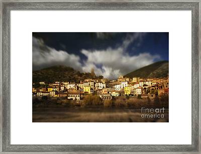 Roquebrun Framed Print by Paul Grand
