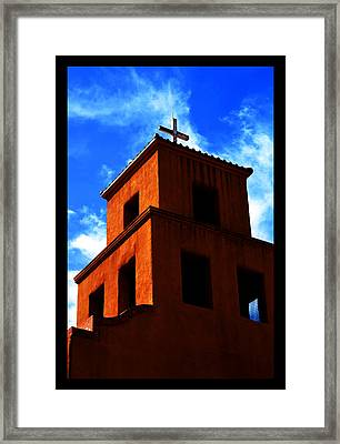 Framed Print featuring the photograph  Santuario De Guadalupe by Susanne Still
