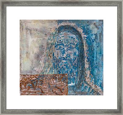 See Me See My Father And The Spirit Framed Print by Thomas Lentz