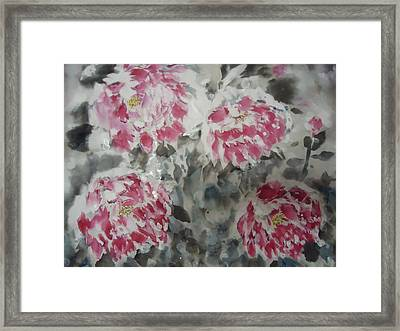 Snow Flower 01 Framed Print