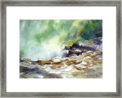 St Anne's Canyon Fall Framed Print