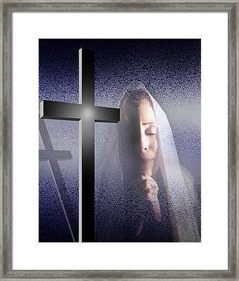 Supreme Blessedness Framed Print by Reggie Duffie