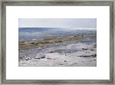 The Beach Mols Framed Print