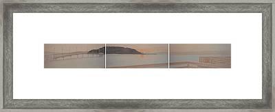 The Des Moines's Marina Set Framed Print