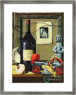 The Good Times Framed Print by Linda Apple