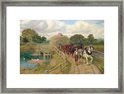 The Last Load  Framed Print by Philip Richard Morris