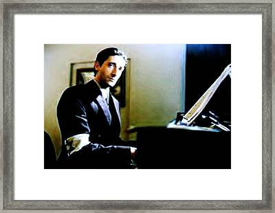 - The Pianist - Framed Print by Luis Ludzska