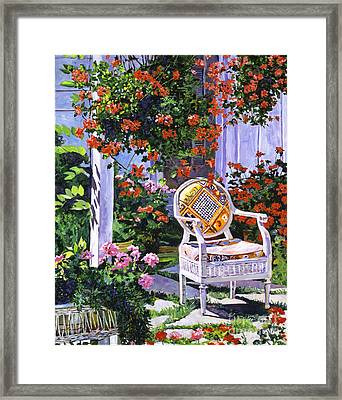 The Sunchair Framed Print