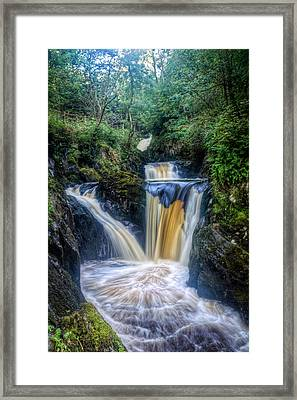Triple Pecca Falls Framed Print by Chris Frost