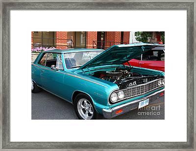 Vintage Chevelle Framed Print