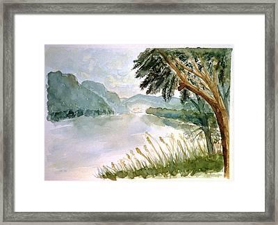Wachau Framed Print