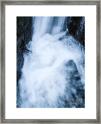 Waterfall Framed Print by Odon Czintos