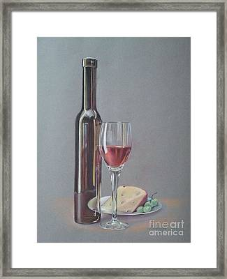 Wine Framed Print by Ahto Laadoga