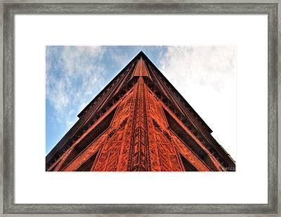 006 Guaranty Building Series Framed Print by Michael Frank Jr