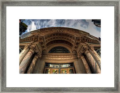 008 Architectural Beauty Of Downtown Buffalo Series Framed Print by Michael Frank Jr