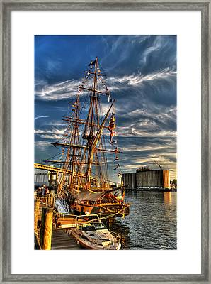 011 Uss Niagara 1813 Series Framed Print by Michael Frank Jr