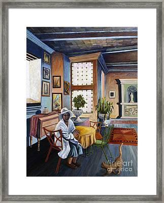 01241 House Cat Framed Print