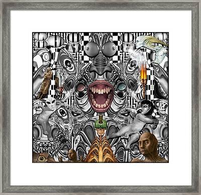 01904026col Framed Print by Michael Yacono