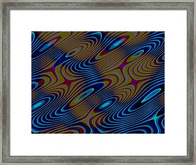 Framed Print featuring the digital art 020420121851 by Jeff Iverson