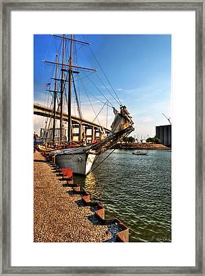 026 Empire Sandy Series  Framed Print by Michael Frank Jr