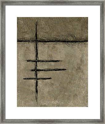 0292 Abstract Thought Framed Print