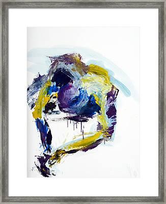 04086 Slippery Fish Framed Print