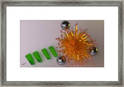 05 28 2012 H Framed Print by Kevin Moore