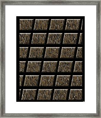 0577 Abstract Thought Framed Print by Chowdary V Arikatla