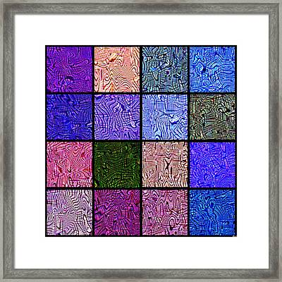0663 Abstract Thought Framed Print by Chowdary V Arikatla