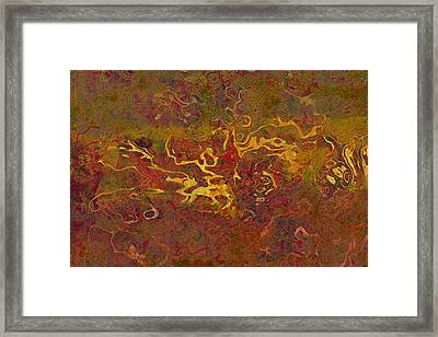 0694 Abstract Thought Framed Print by Chowdary V Arikatla