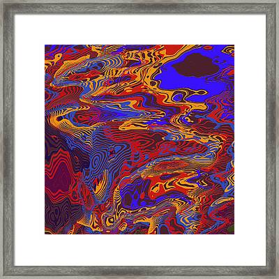 0696 Abstract Thought Framed Print by Chowdary V Arikatla