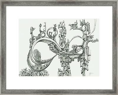 0811-20 Framed Print by Charles Cater