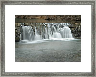 0902-7025 Natural Dam 3 Framed Print