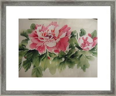 Flower 0727-1 Framed Print
