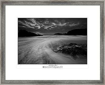Llanddwyn Island Beach Framed Print by Beverly Cash