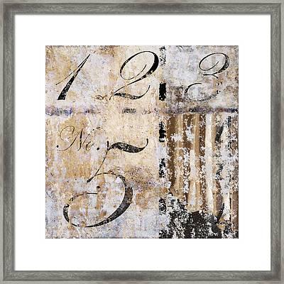 1235 Hidden 4 Framed Print by Carol Leigh