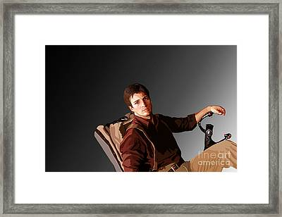 144. That Makes Us Mighty Framed Print by Tam Hazlewood