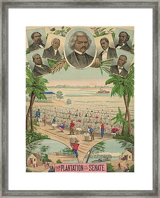 1883 Print Commemorating Framed Print by Everett