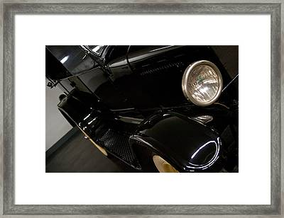 1926 Model T Ford Touring Car Framed Print by David Patterson