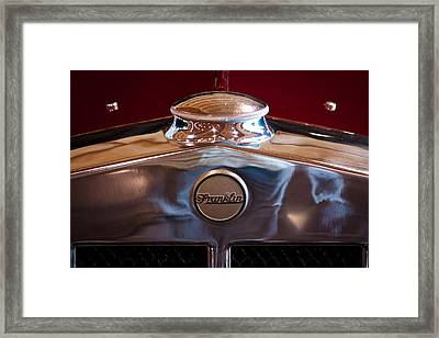 1929 Franklin Model 130 2-door Coupe Framed Print by David Patterson