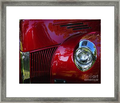 1941 Ford Truck Nose Framed Print by Peter Piatt