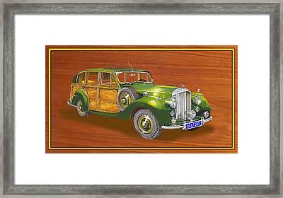 1947 Bentley Shooting Brake Framed Print by Jack Pumphrey